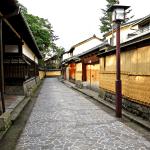 Kanazawa Japan Nagamachi Bukeyashiki samurai district
