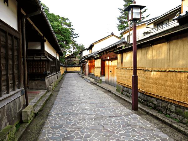 Nagamachi Bukeyashiki samurai district in Kanazawa, Japan