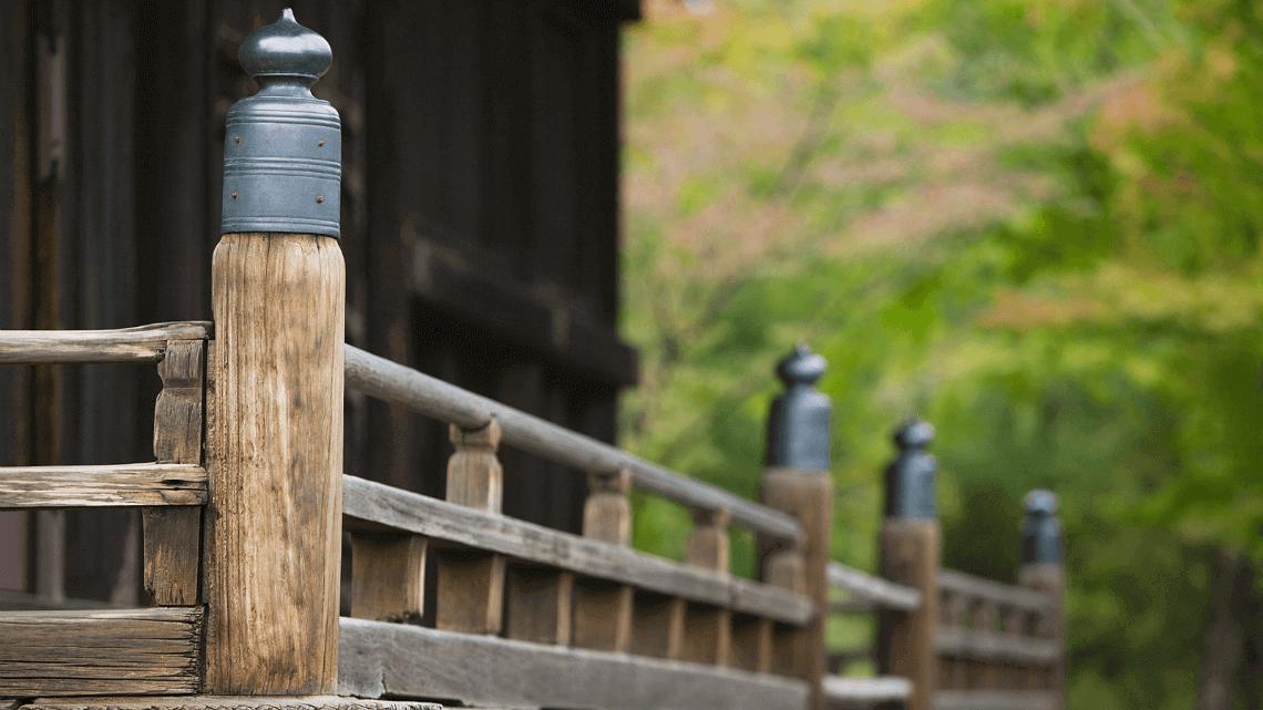 Ninna-ji Temple, a UNESCO world heritage site in Kyoto, Japan