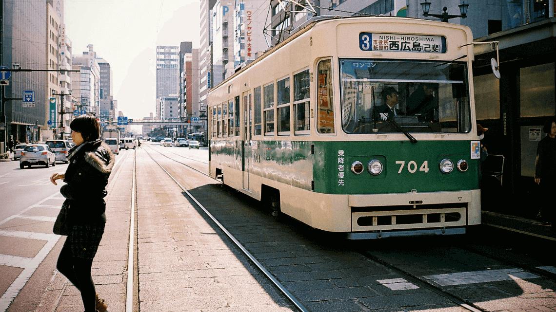 Hiroden Tram, Hiroshima, Japan