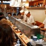 Sushiya sushi shop Tokyo Japan
