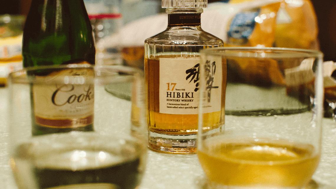 17 Year Old Hibiki Suntory Whisky