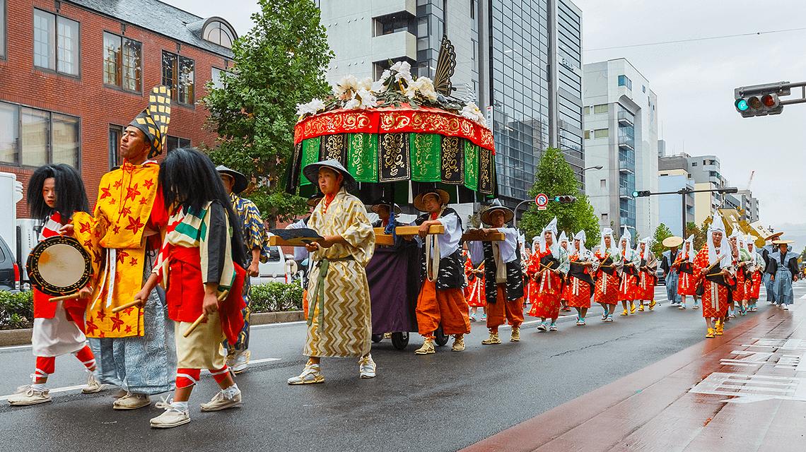 Jidai Matsuri at Heian Shrine, Kyoto, Japan