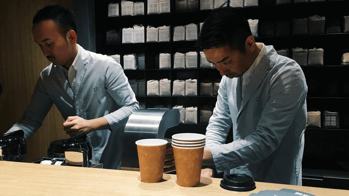 Koffee Mameya in Omotesando, Tokyo, Japan