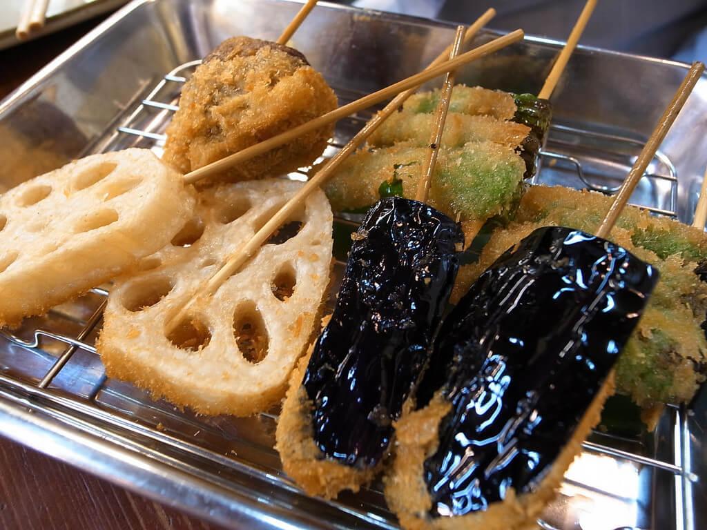 Kushikatsu in Osaka. You Have To Eat These Dishes in Osaka, by Boutique Japan.