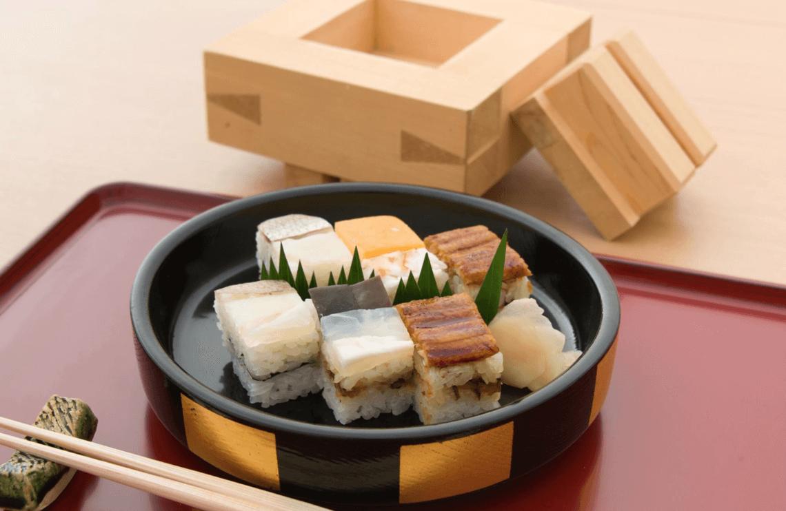 Yoshino Sushi's Hakozushi. You Have To Eat These Dishes in Osaka, by Boutique Japan.