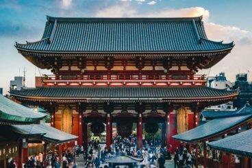 Sensoji Temple Asaskusa Tokyo Japan